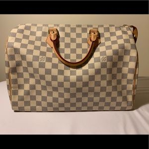 Louis Vuitton Speedy 35 in Damier Azur